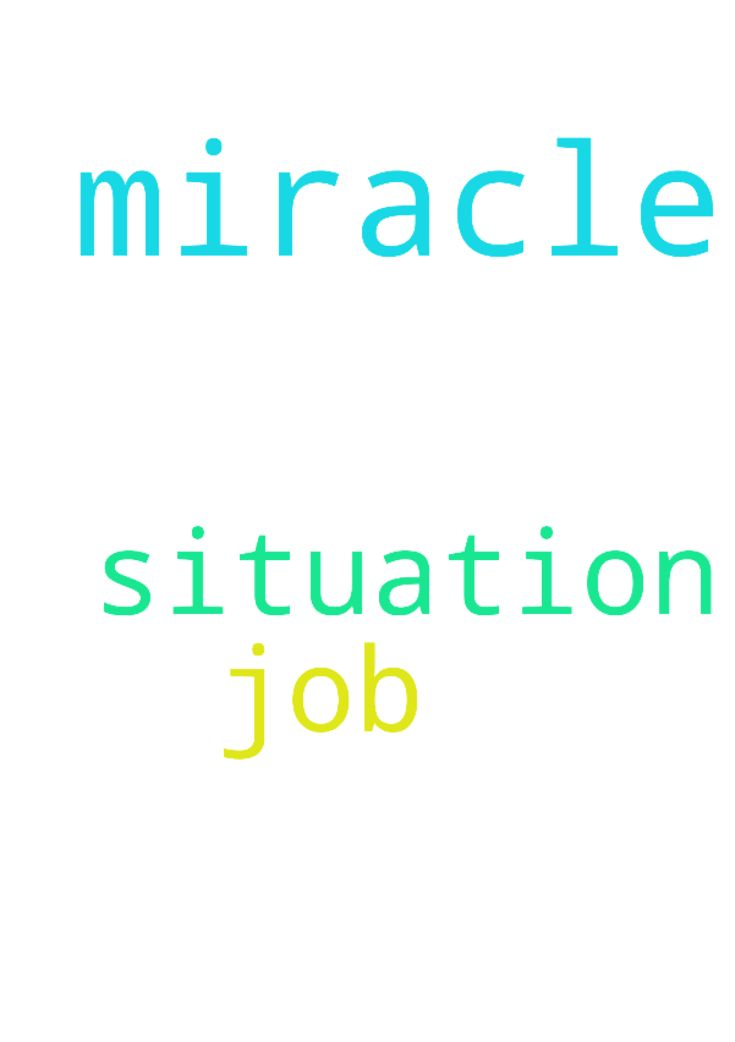 Jesus please help me I will need a miracle for this - Jesus please help me I will need a miracle for this job situation thank You in Jesus Name amen Posted at: https://prayerrequest.com/t/E6Q #pray #prayer #request #prayerrequest