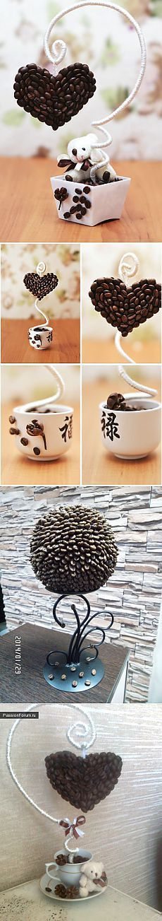 Coffee love / Květinářství, Topiary / PassionForum - mistrovské třídy v vyšívání