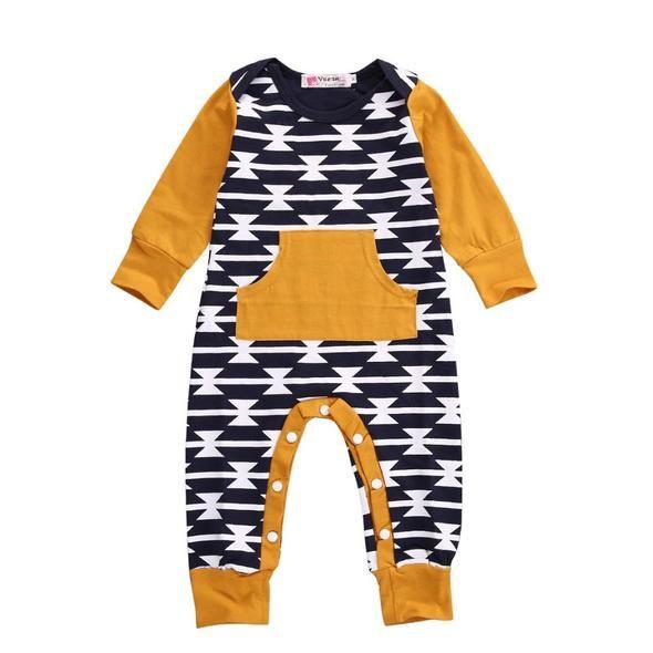 Memela Newborn Infant Baby Girls Boys Letter Print Romper Jumpsuit Halloween Outfits