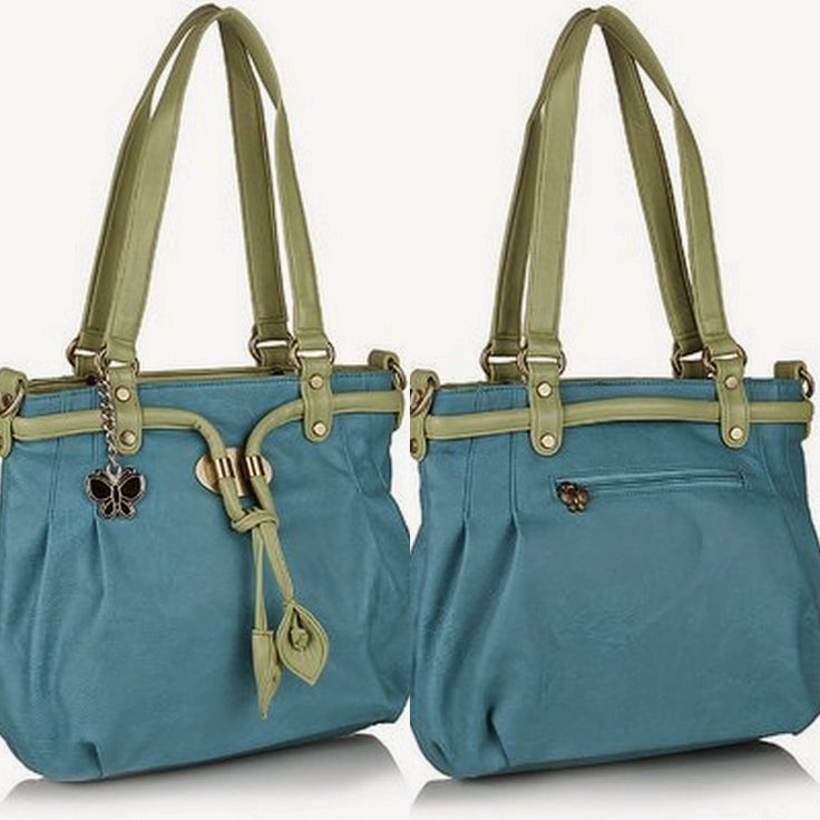 Butterflies Trendy Shoulder Bag.To buy/0rder online http://www.maguvathefashionworld.com/2014/10/10-trendy-handbags-for-shopping.html#.VDwvIN3F8kN
