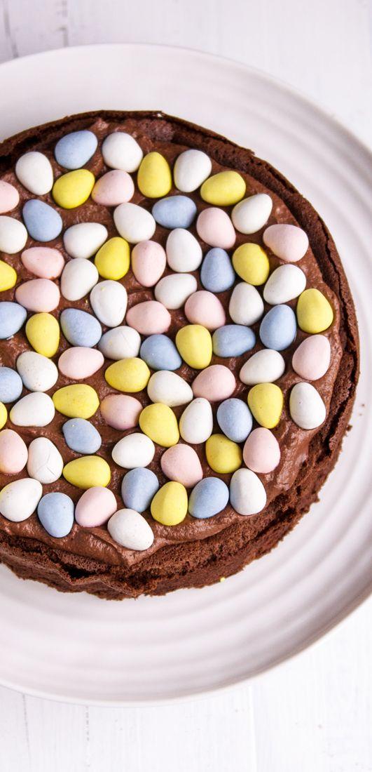 Easter Nest Cake. Gluten-free   eatlittlebird.com