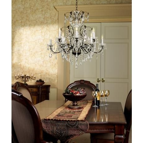 131 best dining rooms images on pinterest dining rooms dining schonbek lighting 1596 madison 12 light chandelier mozeypictures Image collections