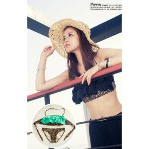 [픽키스트] korea fashion Leopard Can-Can Bikini SET 81173 섹시한 레오파드 캉캉 프릴탑 디자인 섹시하고 귀여운 느낌의 비키니 - 34,900원 by 피핀
