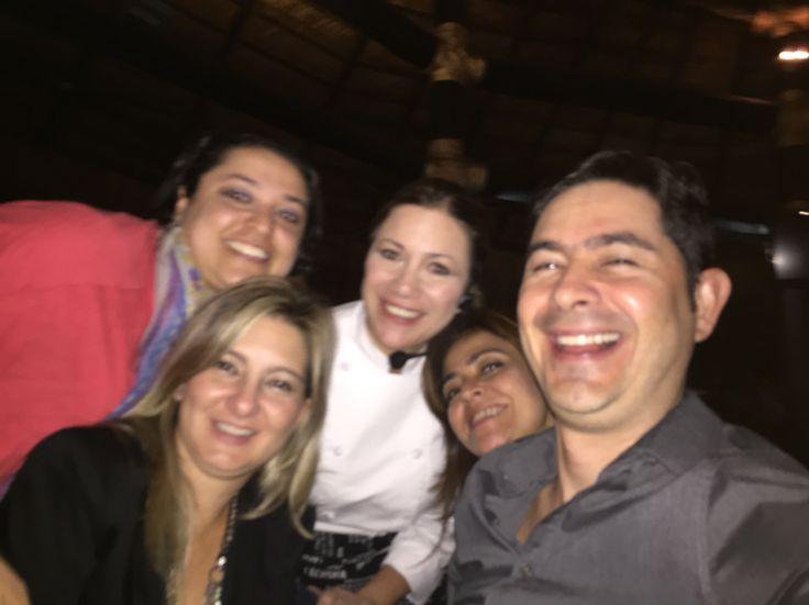 #Amigos de la #Vida, Lucero #cocina y nosotros #Disfrutamos