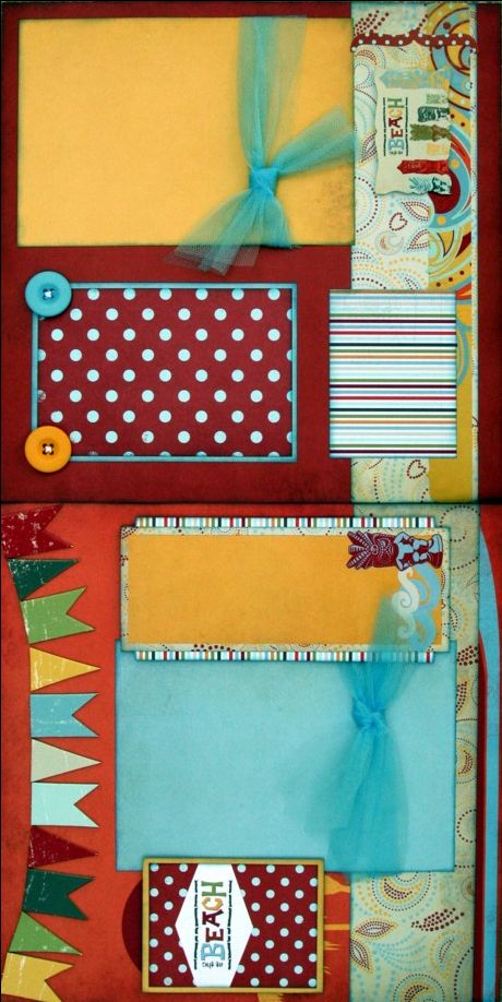 17 best images about scrapbook sketches double page layout on pinterest scrapbook pages - Scrapbooking idees pages ...