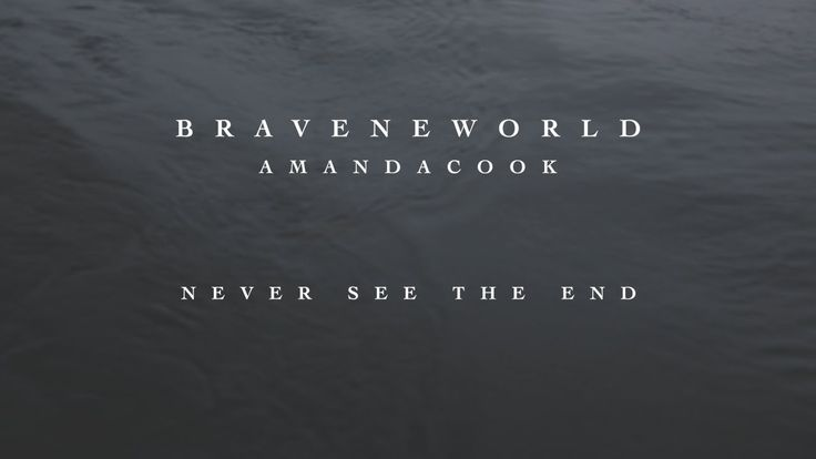Never See The End (Official Lyric Video) // Brave New World // Amanda Cook HOW DEEP HOW WIDE HOW HIGH IS YOUR LOVE FOR ME I CAN NEVER SEE THE END ♥♥