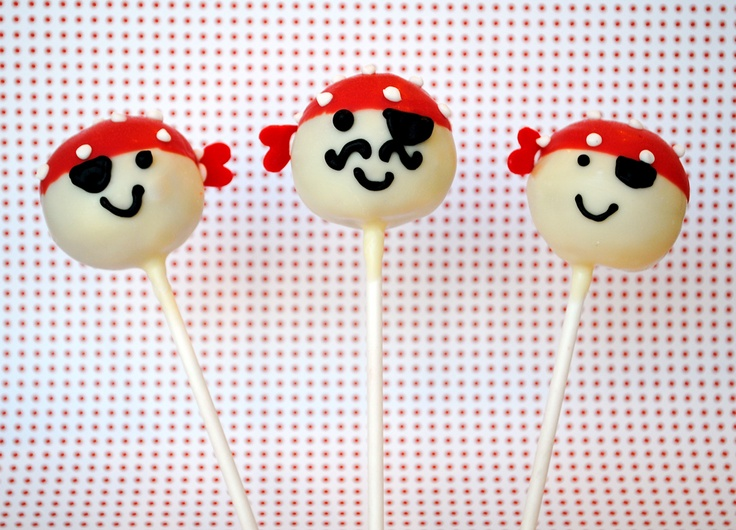 cakepops fiesta pirata niños decoración cumpleaños snack pirate party children kids birthday decoration miraquechulo