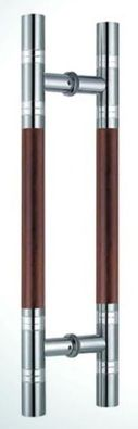 Contemporary Door Pull Handle in Stainless Steel
