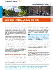 European History, Culture & Arts