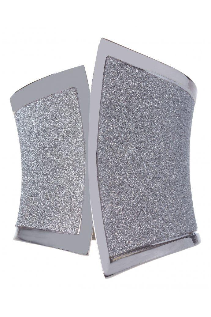 Snap Clamp Glitter Bangle $14.95