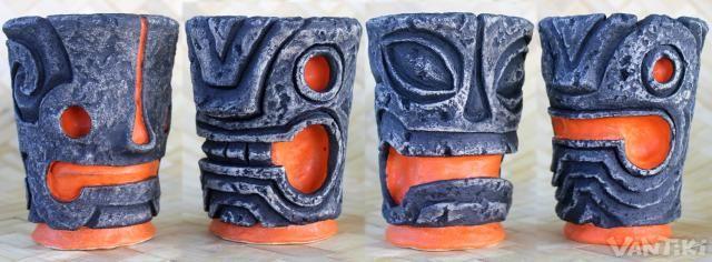 Stone Tumblers: Handmade mugs by VanTiki -- Tiki Central