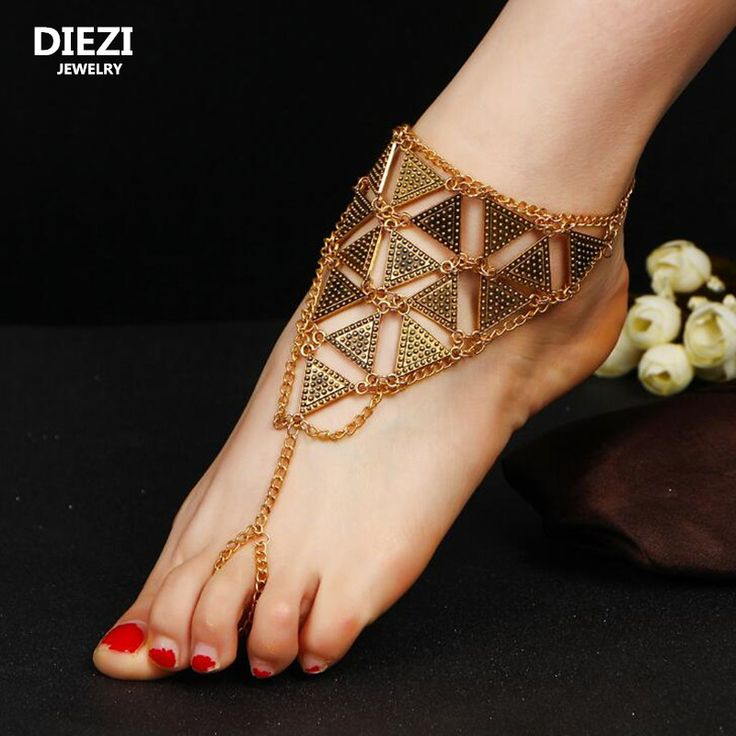Get The Latest Fashion Jewelry  DIEZI one piece Vintage Metal Ankle Bracelet Wedding Barefoot Sandals Beach Foot Jewelry Sexy Leg Chain Boho Crystal Anklet     Buy Jewelry At Wholesale Prices!     FREE Shipping Worldwide     Buy one here---> http://jewelry-steals.com/products/diezi-one-piece-vintage-metal-ankle-bracelet-wedding-barefoot-sandals-beach-foot-jewelry-sexy-leg-chain-boho-crystal-anklet/    #fashion