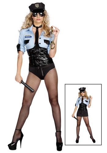 Diva Cop Uniform Costume