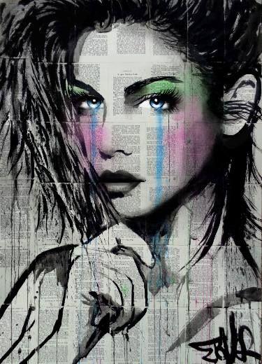 "Saatchi Art Artist Loui Jover; Drawing, ""juniper"" #art"