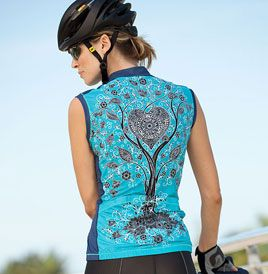 Yellowman Women's Cycling Jersey   Yellowman YMX Sleeveless Jersey   Bicycle Jerseys   Terry Bicycles