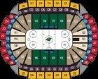 Dallas Stars at Minnesota Wild 2 NHL tickets 2-16-17 Thur Feb 16th 2017 Sect 230