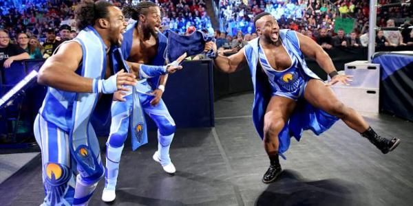 "The New Day"" Finally makes TV Debut!  New Nation of Domination? Details @ http://www.wwerumblingrumors.com/2014/11/the-new-day-finally-makes-tv-debut-new-Nation-of-Domination.html  #WWE   #THENEWDAY   #kofikingston   #BIGE   #XAVIERWOODS   #WRESTLING   #WORLDWRESTLING   #USA   #JAPAN   #CHINA   #BOSTON   #DENMARK   #AUSTIN   #TEXAS   #detroit   #Idaho   #pakistan   #africa   #india   #dubai   #yemen"