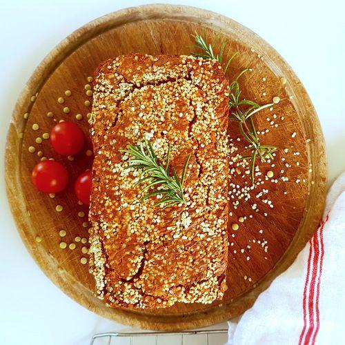 Eiwitrijk glutenvrij Lentil Loaf - Amber Albarda