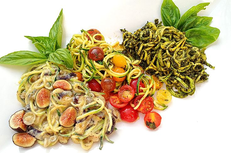 Raw Zoodle Trio | Nutrition You Can Trust