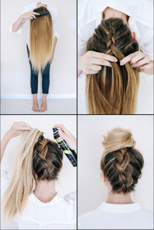 İşte karşınızda 10 hızlı saç şekillendirme yolu