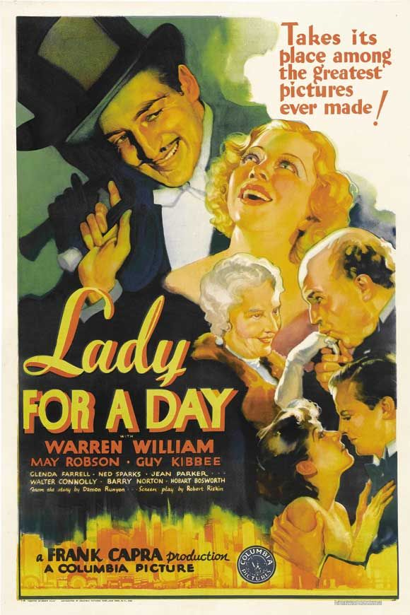 Lady for a Day (1933, Frank Capra)