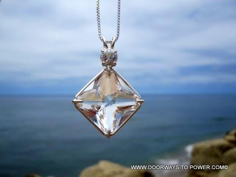 10 best magician stone pendant healing crystal pendants images on john of god quartz white topaz magician stone casa crystal pendant aloadofball Choice Image