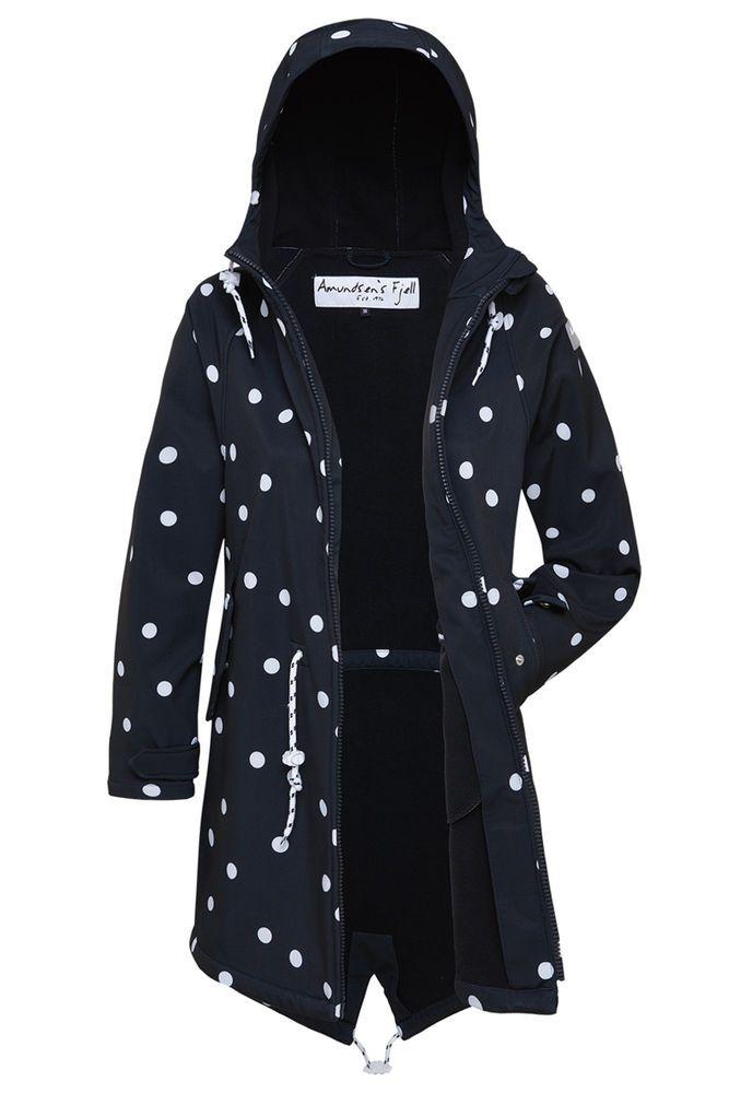 Taillierter Windbreaker Mantel mit Kapuze