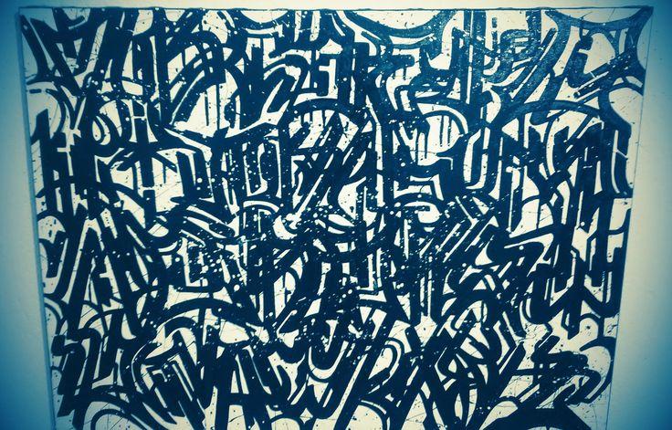 alfabeto caligráfico em contexto com a escrita criativa urbana uma categoria da caligrafia tipográfica estudada pela arte dos sinais urbanos .