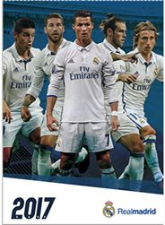 2017 Real Madrid Calendar - Gift Ideas for Kids at WorldSoccerShop.com