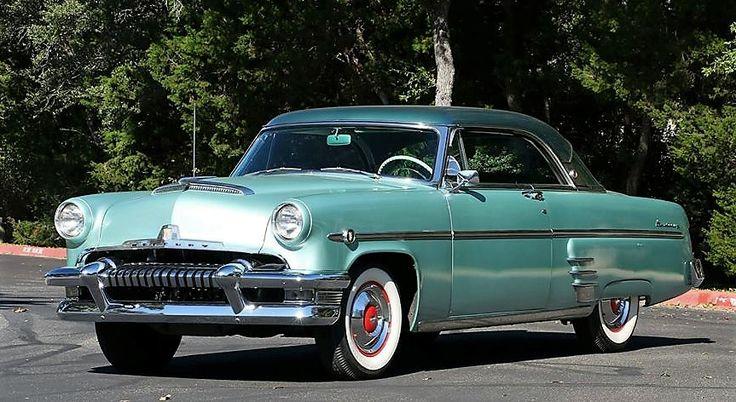 1954 Mercury Monterey, stock.