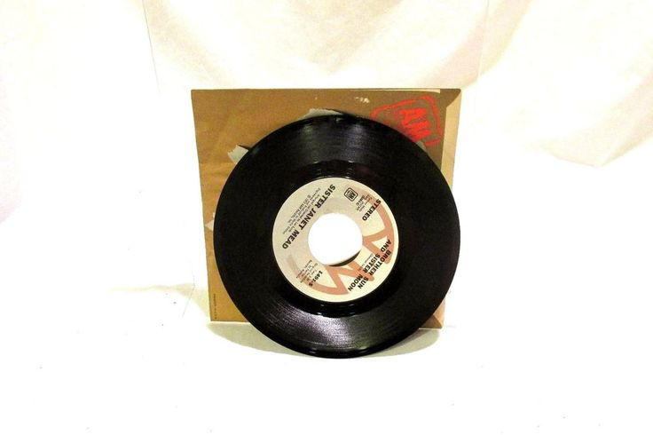 1973 Sister Janet Mead A & M Records 1491 The Lords Prayer 45 rpm #PopRock