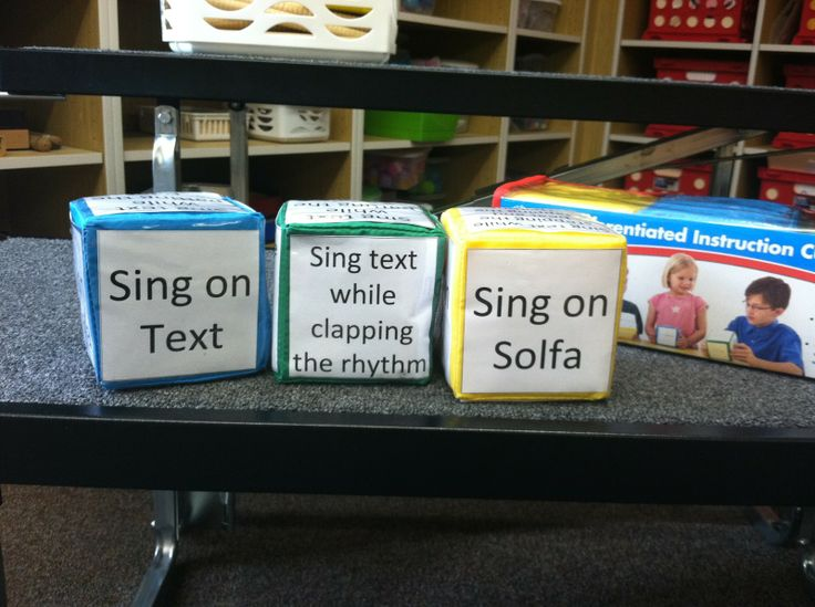A fun activity with endless possibilites!!!  Music a la Abbott: Differentiated Instruction Cubes
