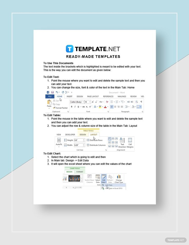Quarterly Business Plan Template AD, , Paid, Business