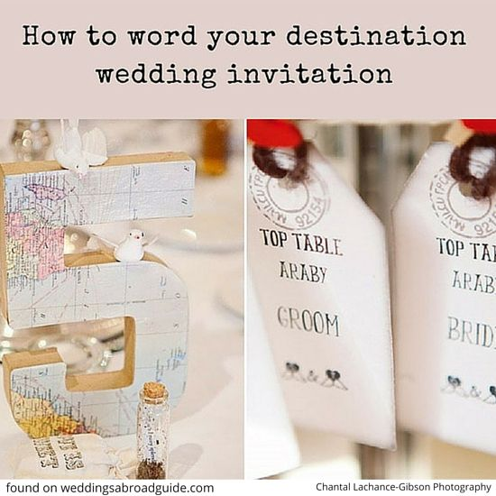 Wedding Abroad Invitation Wording Ideas: 69 Best Weddings Abroad Planning