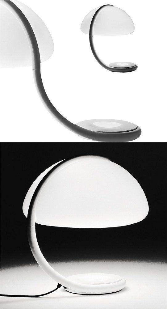 Swivel table #lamp SERPENTE by Martinelli Luce | #design Elio Martinelli @martinelli luce