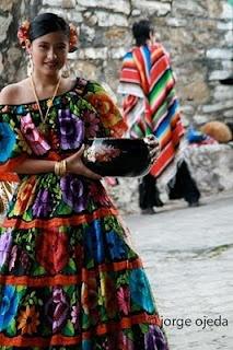 Traje tipico de Chiapas…