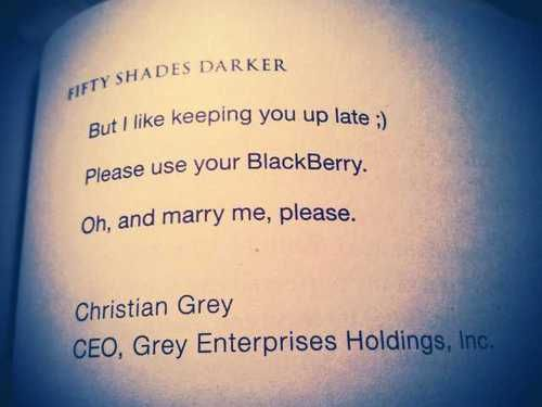 oh and marry me please <3: Grey Arrrrr33, Things Fifty, Fifty Obsession, Fifty Fifty, Christian Grey, Books Worth, 50 Shades, Fifty Shades, Ianhel Yeah