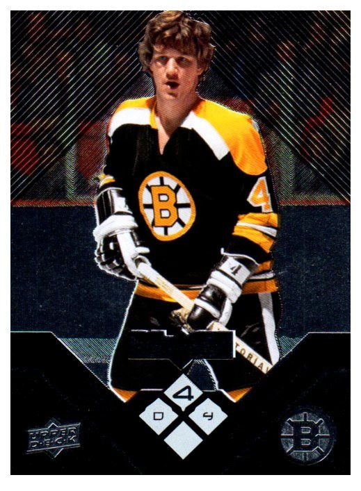 2008-09 Upper Deck Bobby Orr Black Diamond Quad Boston Bruins