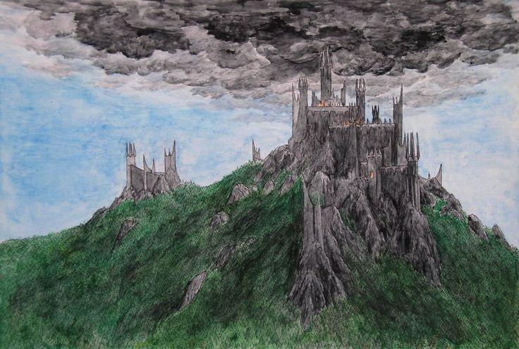 Dol Guldur by neral85.deviantart.com on @deviantART