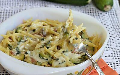 TROFIE AL FORNO CREMOSE ricetta primo piatto con zucchine