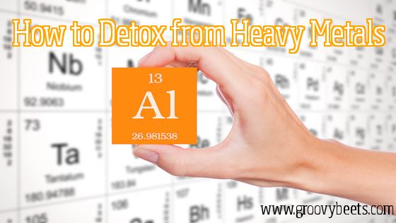 how to get rid of heavy metals in the brain