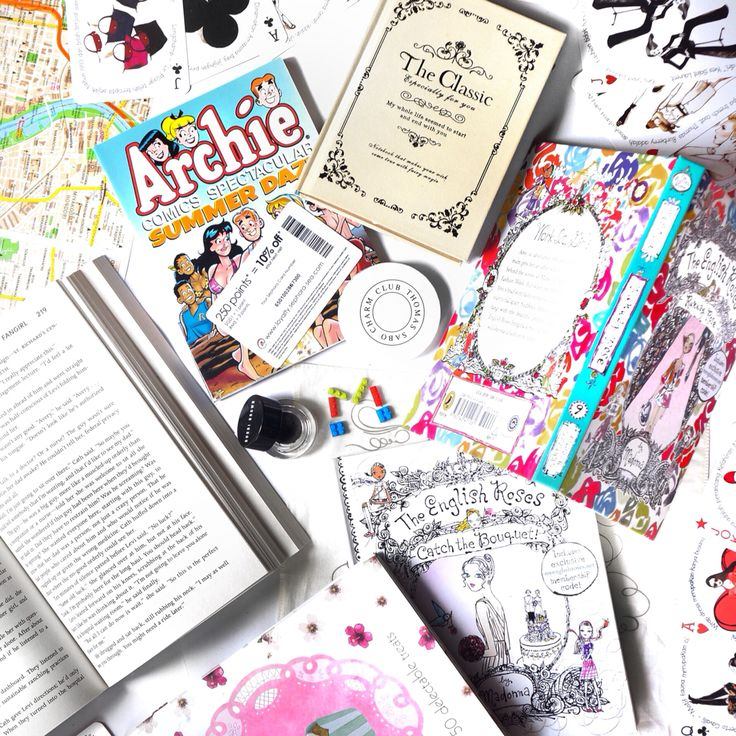 Unit of books, flatlay by michelle othman
