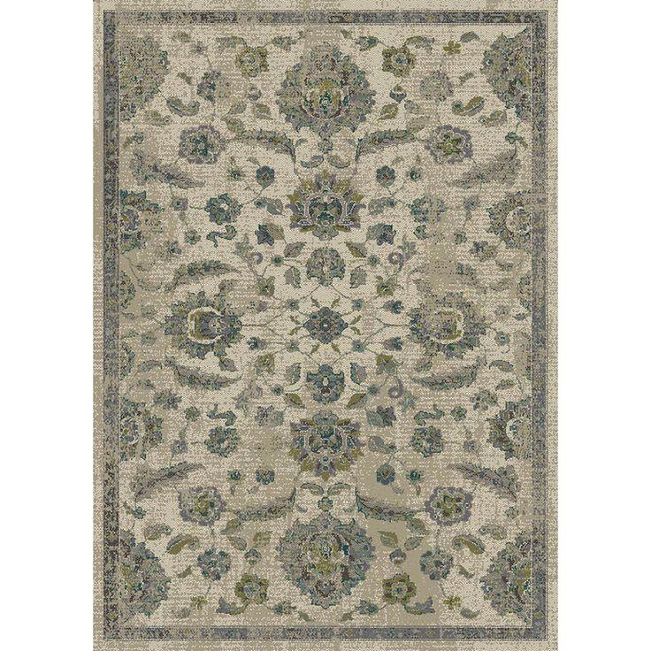 Allen roth portsbury beige rectangular indoor woven for 7 x 9 dining room rugs