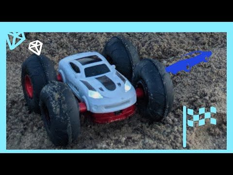 Rc Car On The Sand Video For Kids Cars For Kids Youtube Hot