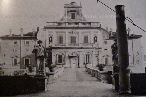 Roma Sparita. Foto storiche di Roma - Villa Ludovisi