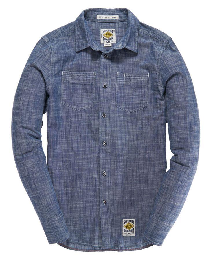 Superdry Raw Riveter Shirt - Men's Shirts