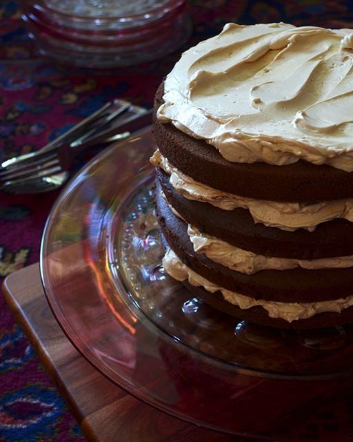 Salted Caramel & Chocolate Layer Cake | Chocolate cakes ...