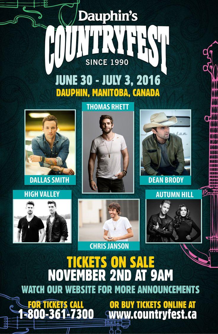 Countryfest - Dauphin, Manitoba