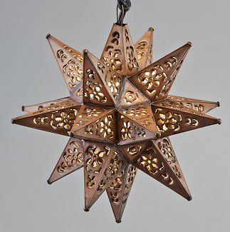 Punched Tin Star Lantern  Shops at Old Salem Online Store