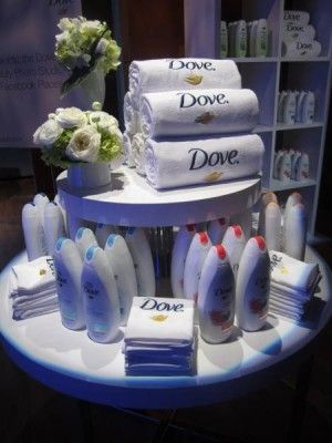 Gotta have my dove soap...keepin the skin soft oh yeah!